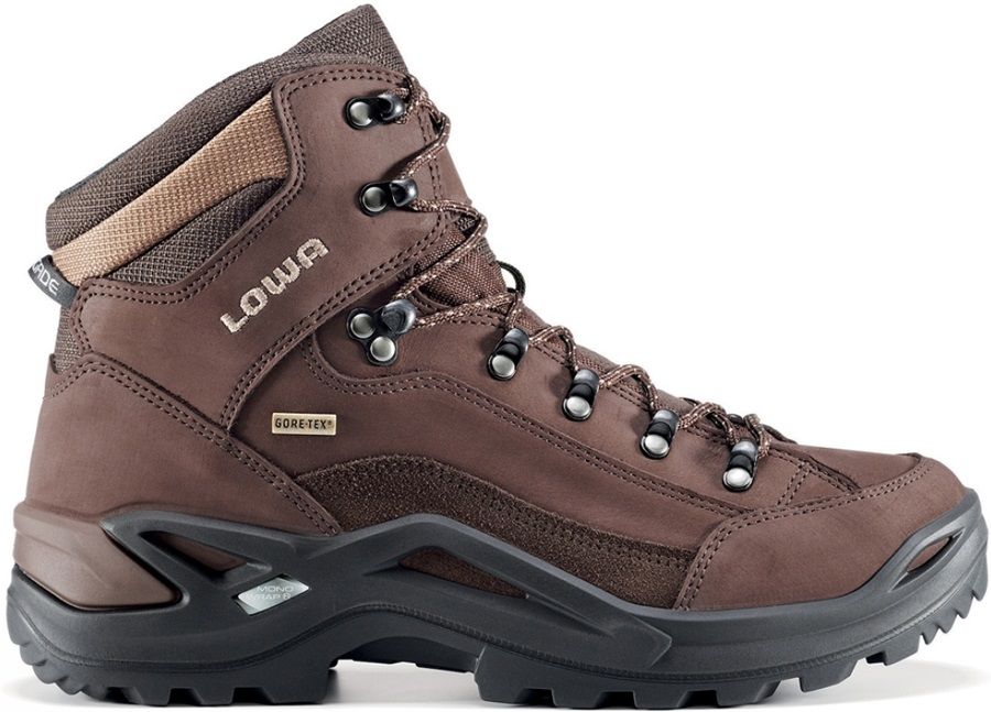 Lowa Renegade GTX Mid Men's LTR Hiking Boots UK 10 Espresso/Brown