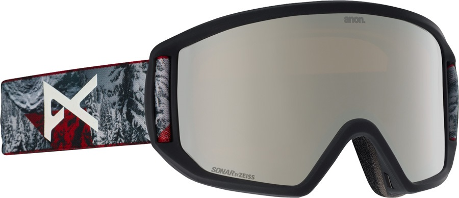 41b08b165d9 Anon Relapse MFI Sonar Red Snowboard Ski Goggles