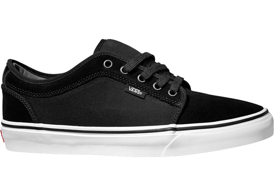 faa096c697a40b Vans Chukka Low Skate Shoes UK 11 Black White Suede