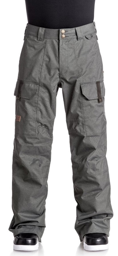 DC Code Ski/Snowboard Pants, M Dark Shadow