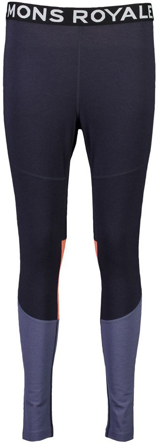 Mons Royale Olympus 3.0 Women's Merino Wool Leggings, M 9 Iron