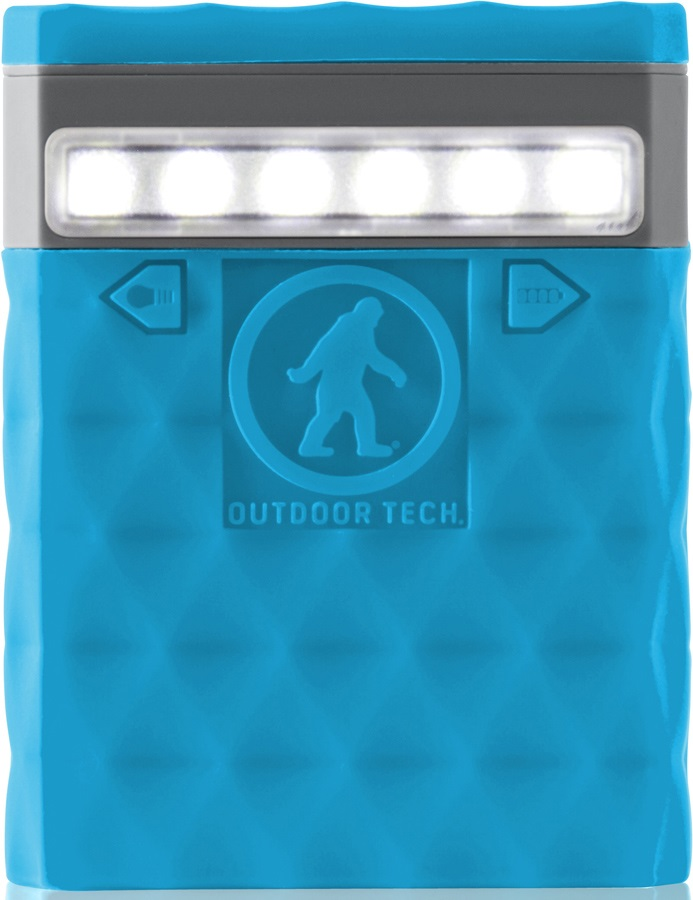 Outdoor Tech Kodiak 2.0 Portable Battery Pack & Charger, 6000 MAh Blue