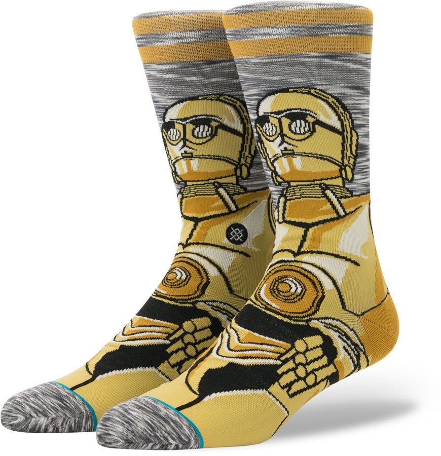 Stance Star Wars Skate/Casual Socks, M Android