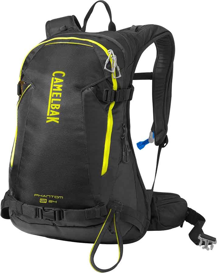 48525b2c025 Camelbak Phantom LR Ski/Snowboard Backpack, 24L Black/Sulphur Springs
