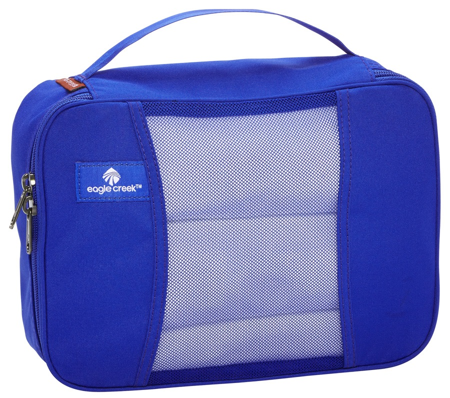 Eagle Creek Pack-It Original™ Half Cube Travel Organiser, 5L Blue Sea