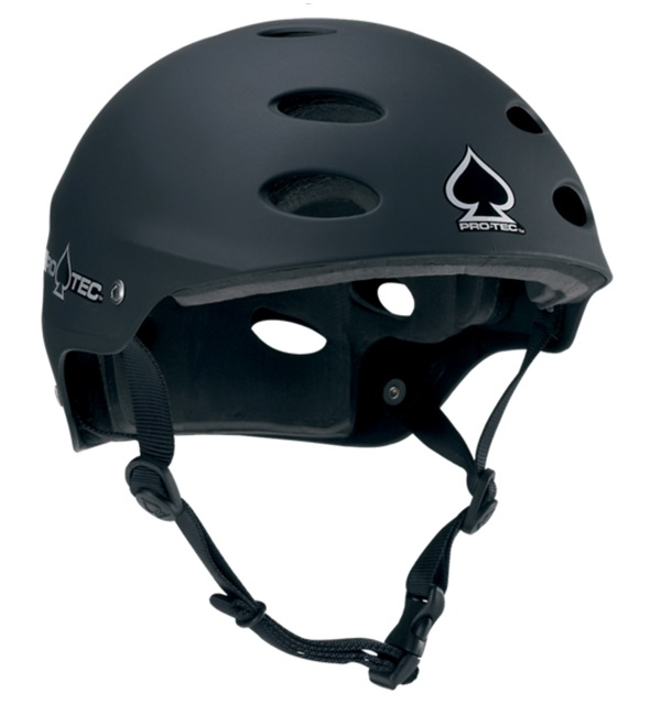 Pro-tec Ace Wake Watersport Helmet, XS, Black