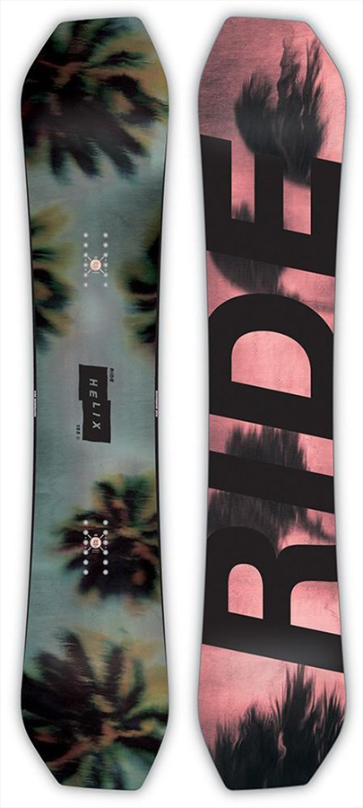 Ride Helix Positive Camber Snowboard, 151cm 2019
