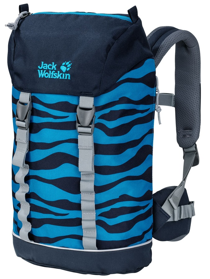 Jack Wolfskin Child Unisex Jungle Gym Pack Backpack, 10L Snake