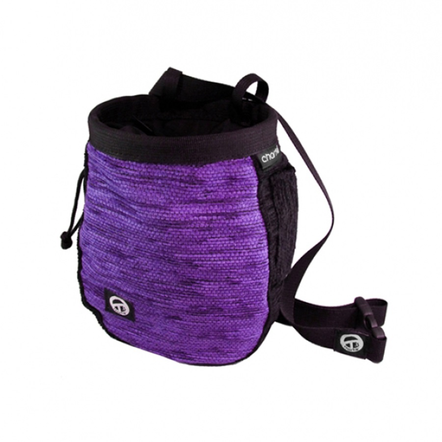 Charko Armadillo Rock Climbing Chalk Bag Purple
