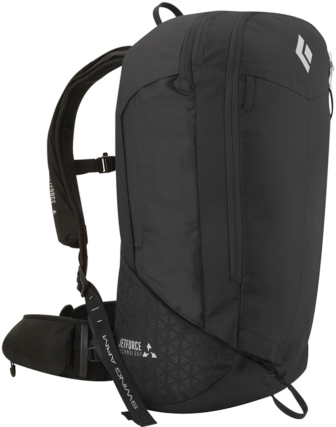 Black Diamond JetForce Halo 28 Ski/Snowboard Backpack M/L Black