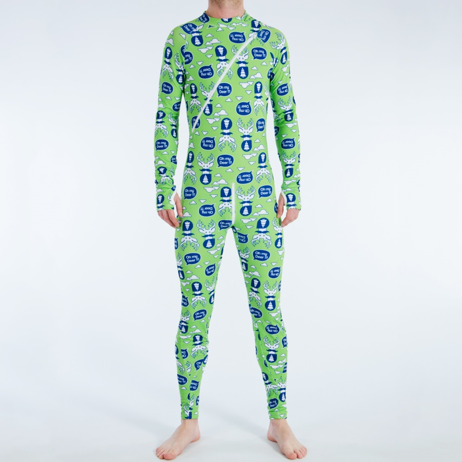 Picture One Peace Thermal One-Piece, S, Oh My Deer