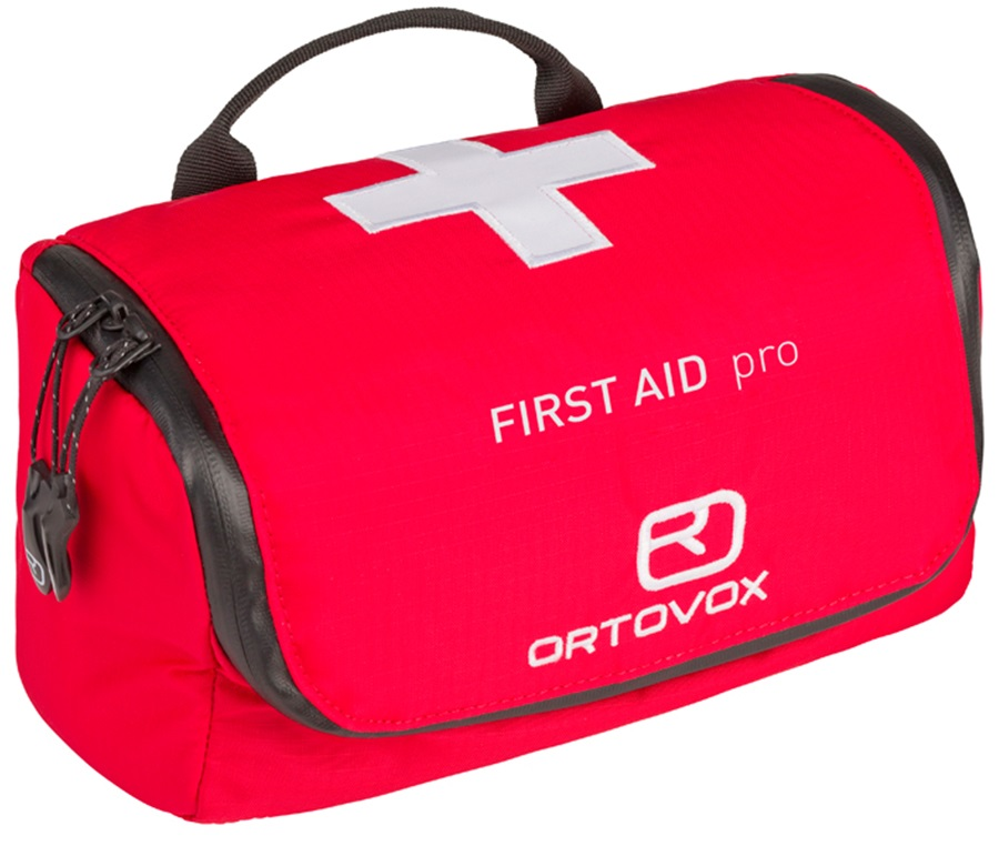 Ortovox First Aid Pro First Aid Kit, Red