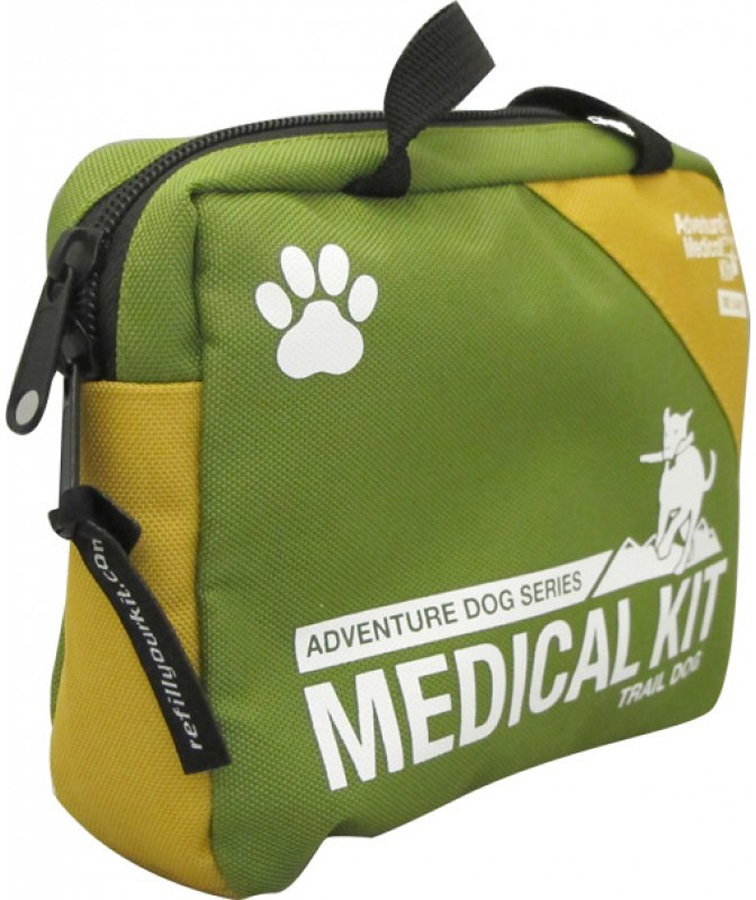 Adventure Medical Kits Trail Dog Pet First Aid Kit, 14 Items, Green
