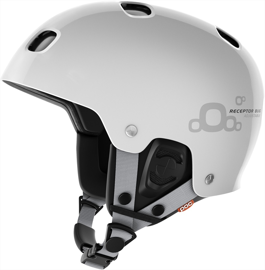 POC Receptor Bug Adjustable 2.0 Ski/Snowboard Helmet, XL-XXL White