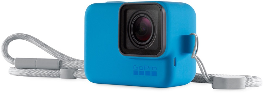 GoPro Blue Sleeve + Lanyard Accessory