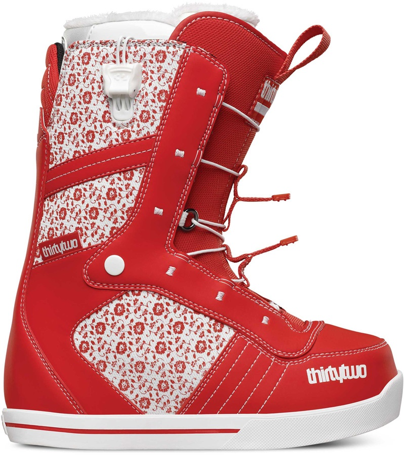 thirtytwo 86 FT Women's Snowboard Boots, UK 3, Red, 2016