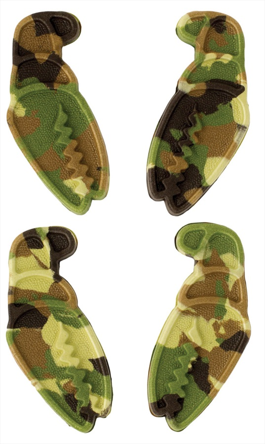 Crab Grab Mini Claws Snowboard Stomp Pad, Camo Swirl