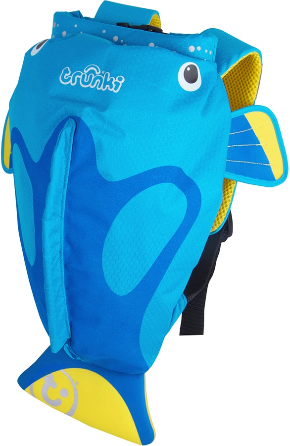 Trunki PaddlePak Kid's Backpack, 7.5L Tang The Tropical Fish