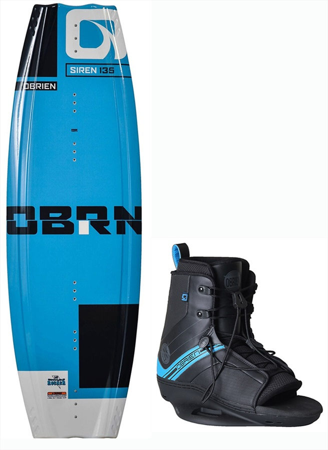 O'Brien Siren | Link Ladies Wakeboard Package, 135| 7-9 2017