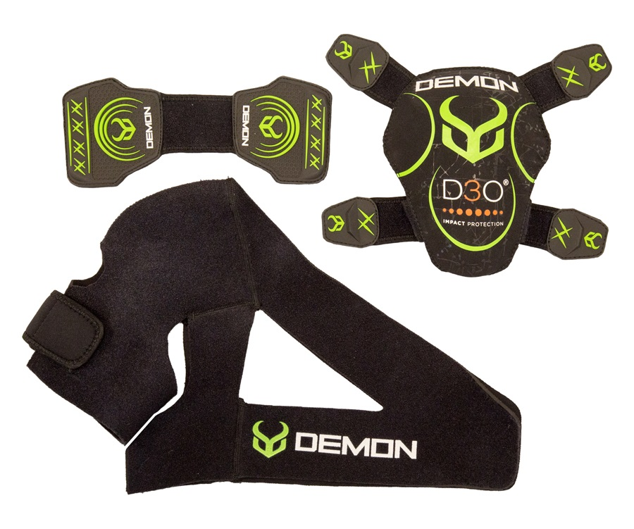 Demon D3O Shoulder Brace Ski/Snowboard Support XXL Black