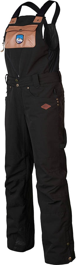 Picture Seattle Bib Pant Ski/Snowboard Pants, S Black