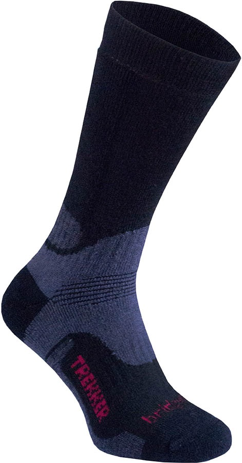 Bridgedale Hike Midweight Men's Hiking Socks, M Black
