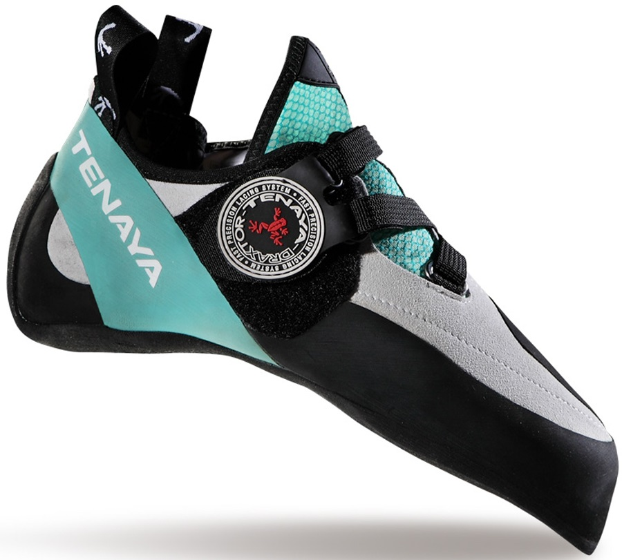 Tenaya Oasi LV Rock Climbing Shoe: UK 7 | EU 40.7, Teal