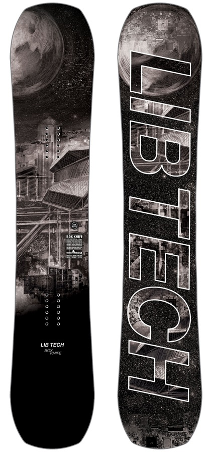 Lib Tech Box Knife Hybrid Camber Snowboard, 154cm 2019