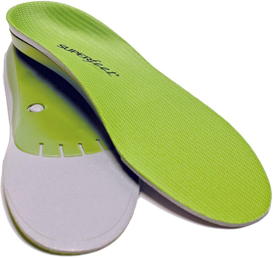 Superfeet Trim To Fit Replacement Shoe Insoles, G Green Wide