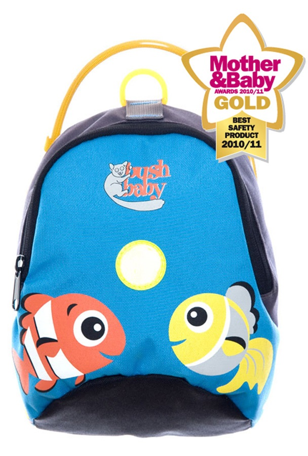 Bushbaby Child Unisex Minipack Kid's Backpack - 2.5L, Ocean Blue
