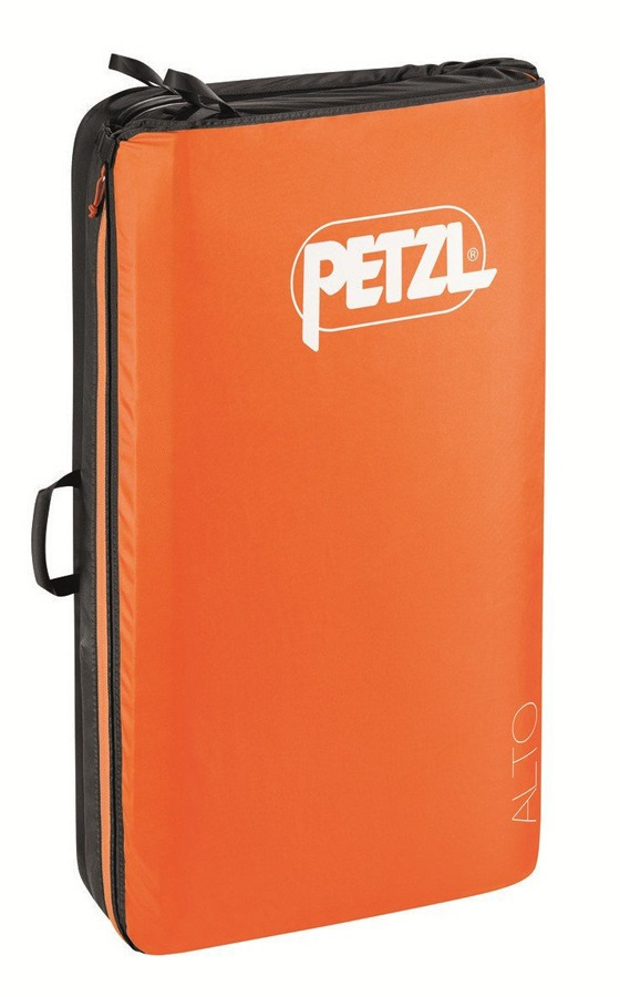 Petzl Alto Bouldering Crash Pad, 118 X 100 X 10cm Orange