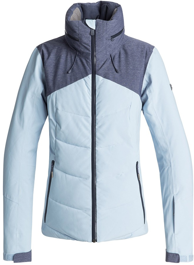Roxy Flicker Women's Snowboard/Ski Jacket, M Powder Blue