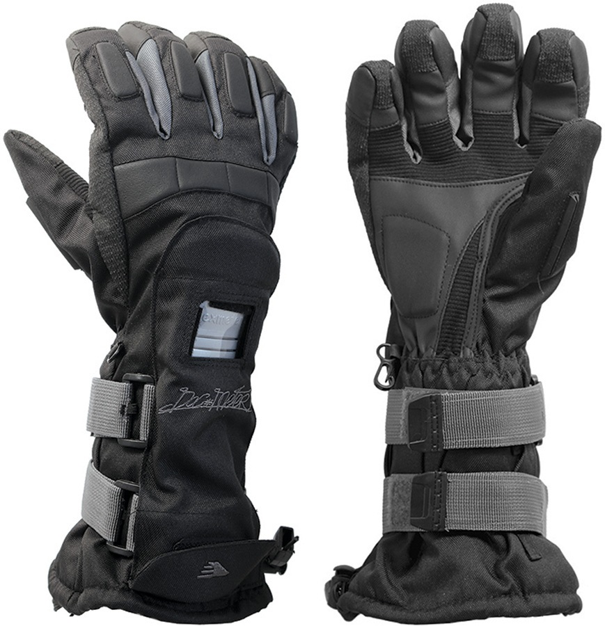 Demon Flexmeter Single Snowboard/Ski Gloves L Black