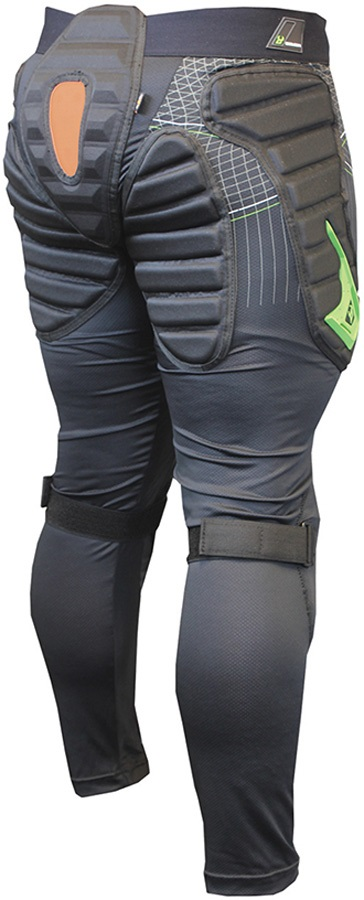 Demon X D30 Flex Force Ski/Snowboard Impact Pants, XS Black