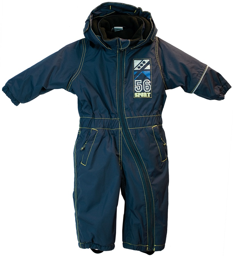 Rucanor Florian Baby One Piece Snow Suit 80cm Navy