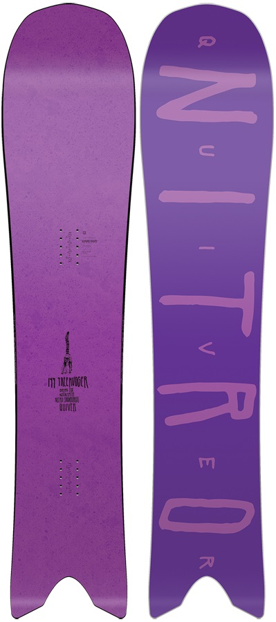 Nitro Quiver Treehugger Cam-Out Camber Snowboard, 149cm 2019