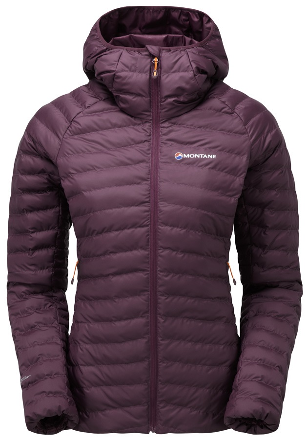Montane Womens Phoenix Women's Insulated Jacket, UK 8 Saskatoon Berry