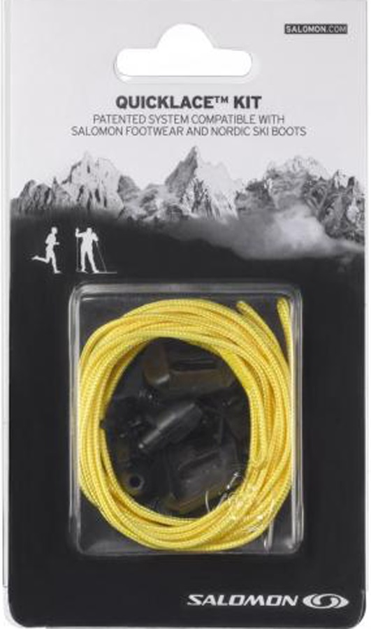 Salomon Quicklace Replacement Lace Kit, One Size, Yellow