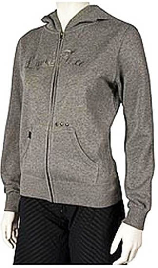 Liquid Force 25th Zipper Fleece, Small, Grey