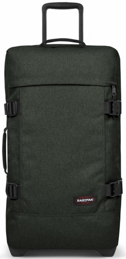 Eastpak Tranverz M Wheeled Bag/Suitcase, 78L Crafty Moss