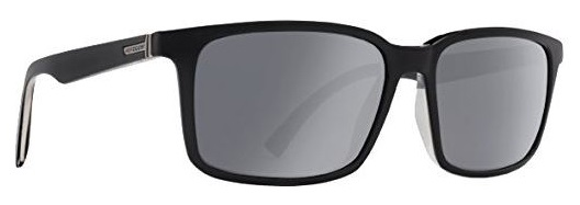 Von Zipper Pinch Grey Chrome Lens Sunglasses, Black Satin