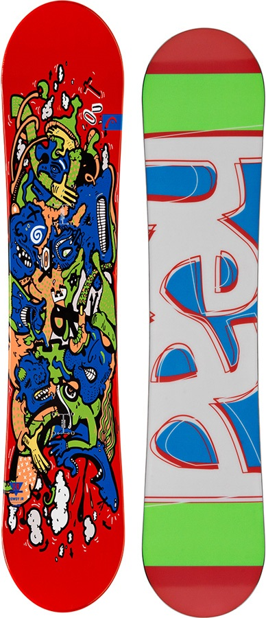 96d1d9775 Head Rowdy Jr Reverse Camber Youth Snowboard