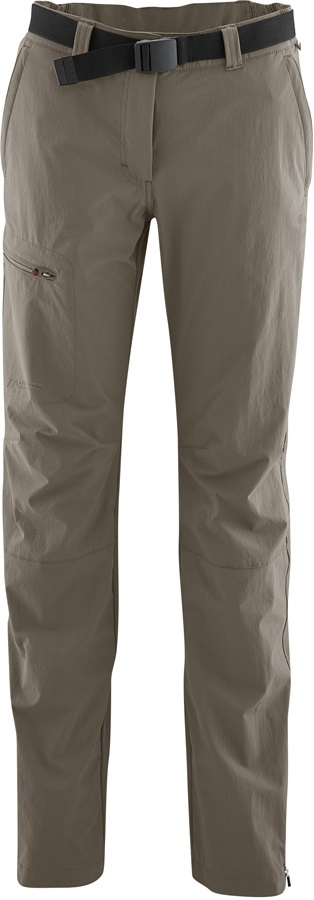 Maier Sports Womens Inara Slim Long Stretch Hiking Pants, UK 14 Teak
