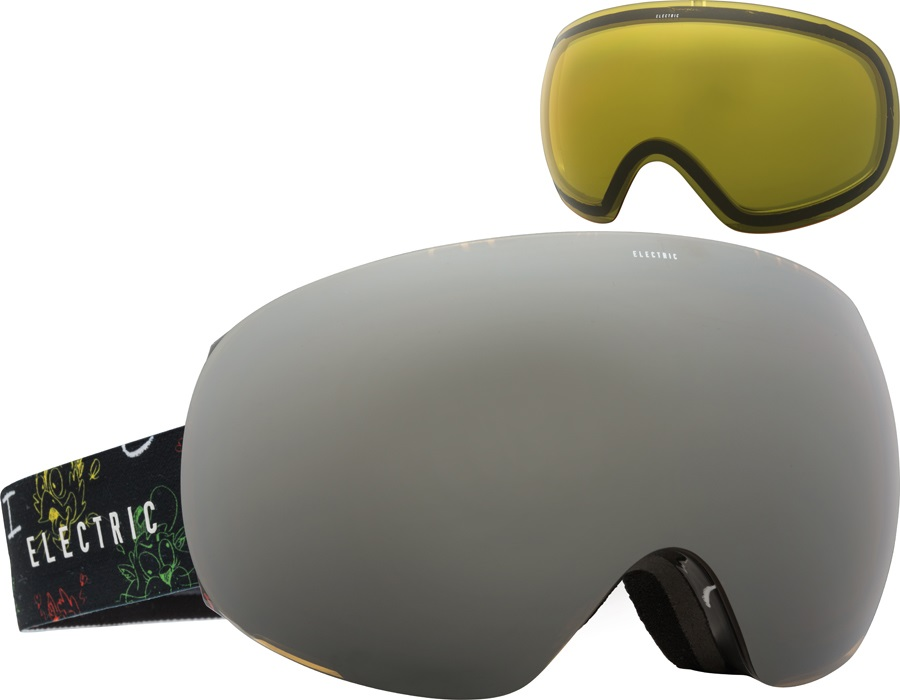 Electric Eg3 Snowboard Ski Goggles L Cartoon Rasta