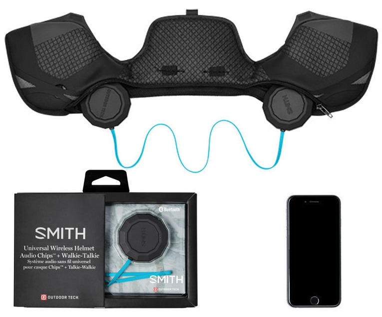 Outdoor Tech Chips 2.0 Smith Wireless Bluetooth Helmet Audio