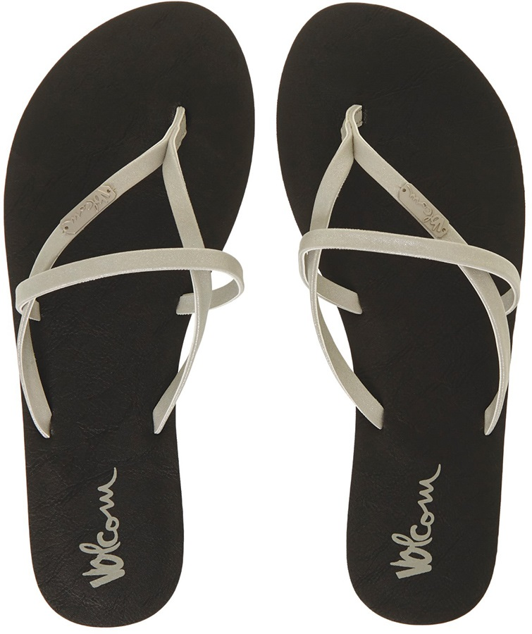 358c1db9968954 Volcom All Night Long Women s Flip Flops
