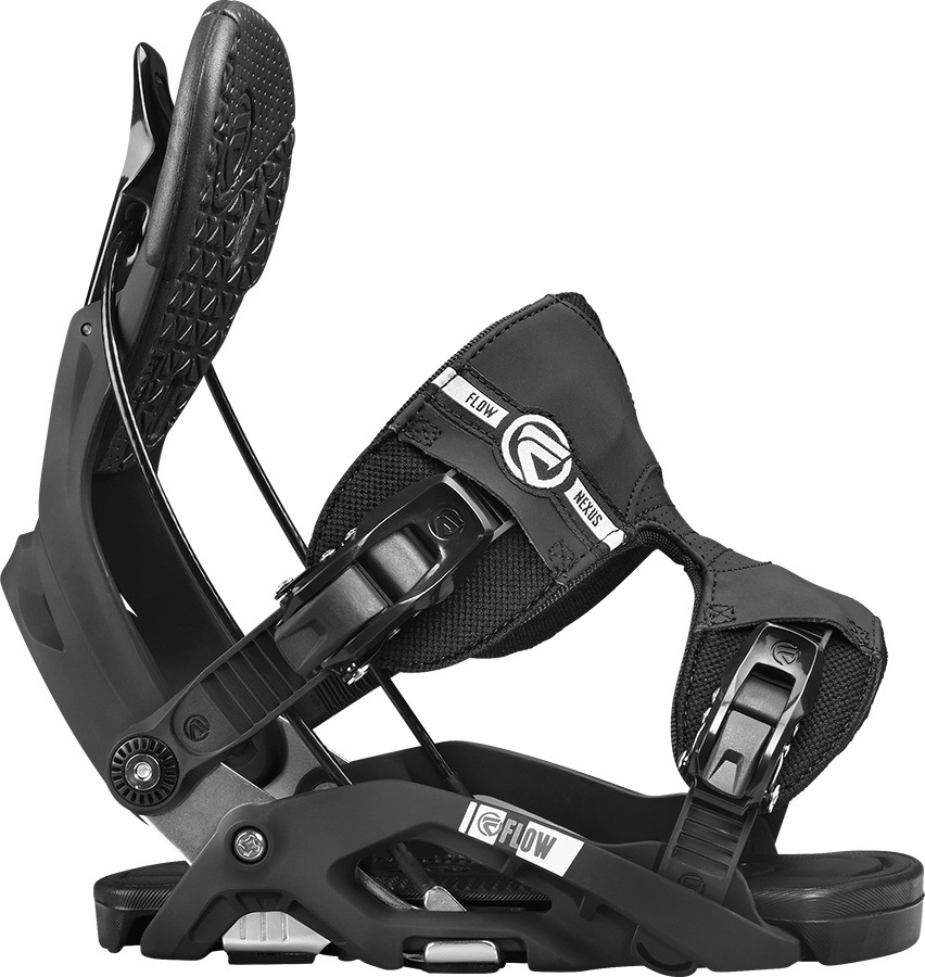 Flow Nexus Step In Snowboard Bindings, M, Black, Fusion, 2017