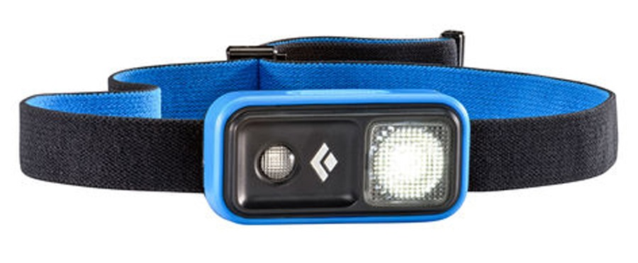 Black Diamond Ion 100 Lumen LED Headlamp, Adjustable, Powell Blue