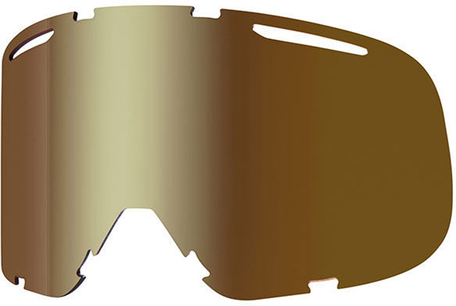 Smith Riot Snowboard/Ski Goggles Spare Lens, One Size, Gold Sol-X