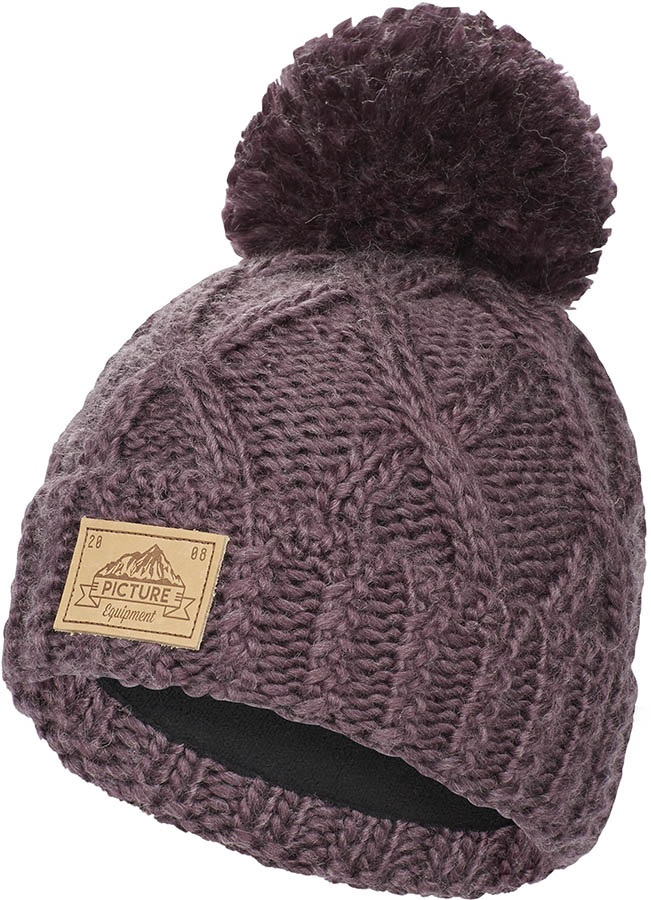 new concept b6639 5b3f3 Picture Haven Ski Snowboard Beanie, One Size Purple